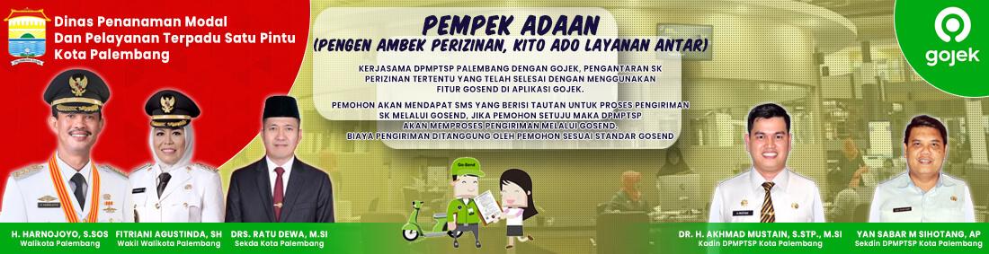 Iklan DPMPTSP Kota Palembang