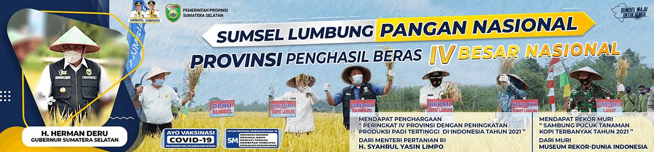 Sumatera Selatan Lumbung Pangan Nasional
