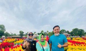 Melirik Taman Celosia ; Destinasi Wisata Baru di Pinggiran Kota Palembang