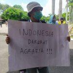Indonesia Darurat Agraria ! Massa Aksi Kecewa Dengan Jawaban DPRD