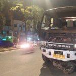 Breaking News : Truck Vs Sepeda Motor di Jalan Basuki Rahmat
