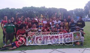"Champion! PS PEDAMARAN ""Kota Tikar"" Angkat Piala"
