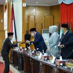 HD Terima Rekomendasi Dewan Terhadap LKPJ Gubernur 2020