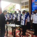 Ansori Tohir Dilantik Sebagai Ketua PSSI Palembang 2020-2024