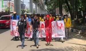 Mahasiswa Sumsel; Batalkan UU Omnibuslaw. Pendidikan Jangan di Liberalisasi