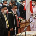 Pengukuhan Pengurus KONI Kota Palembang; Antoni Nurdin Optimis Berjaya di Porprov