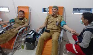 Samsat Palembang IV Adakan Donor Darah dan Pengobatan Gratis