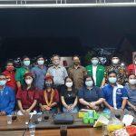 Ketua Umum PGI Sumsel Menerima Kunjungan Pemuda Lintas Agama
