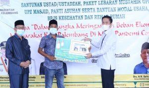 Jelang Idul Fitri, Pemkot Bagi Sembako Melalui Baznas