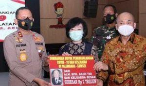 Salut ! Pengusaha Asal Aceh Sumbang 2 Triliun Untuk Sumsel