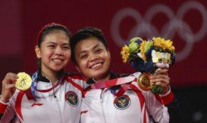 Boyong Medali Emas, Raket Greysia dan Apriani Tak Akan Ikut Pulang