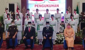 30 Personel Pasukan Pengibar Bendera Dikukuhkan Walikota Hari Ini