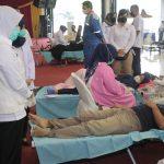 Bantu Jaga Stok Selama Pandemi, PT Pusri Rutin Adakan Donor Darah
