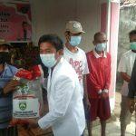 Kadinsos Prov Sumsel Gandeng DPP Gencar Salurkan Beras Bantuan Gubernur