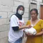Posko LMND Peduli DKI Jakarta Bagikan Sembako Bantu Rakyat Kecil