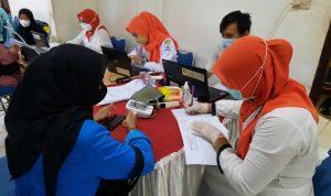 Pengurus KONI Kota Palembang dan Atlet Divaksin Hari Ini