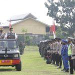 Antisipasi Gangguan Keamanan Jelang Idul Fitri, HD Pimpin Apel Ketupat Musi