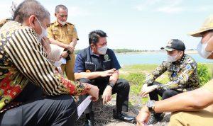 Respon Keinginan masyarakat, Herman Deru Tinjau Lokasi Exit Tol