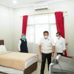 Deru Siapkan Tambahan Tiga Tower Asrama Haji untuk Isolasi