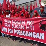 Datangi Mapolda Sumsel, Minta Usut Pembakaran Bendera Partai PDI Perjuangan