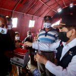 HD Biayai Sewa Rumah Sementara Korban Kebakaran Ogan Ilir