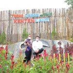 Gubernur Resmikan Kolam Renang dan Taman Bunga Celosia di Kenten Laut