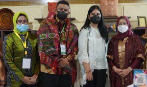 Produk Kain Tenun Limar Sumsel Jadi Magnet di Ajang Indo Smart City Forum and Expo 2021